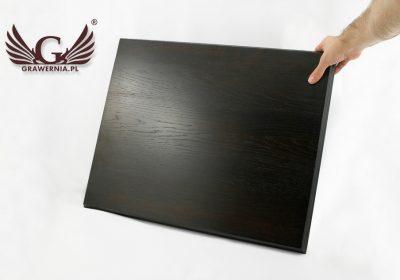 Tablica dębowa na gwoździe sztandarowe – kolor ciemny